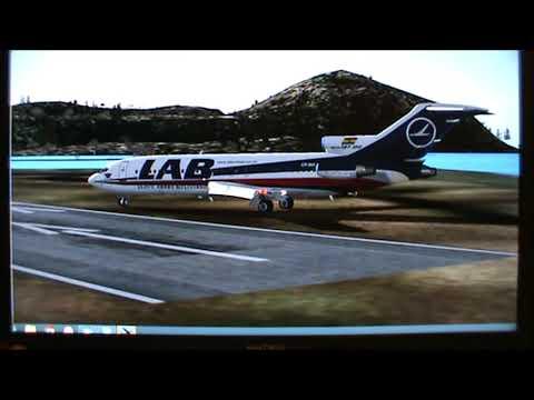 727-100 LAB Lloyd Aereo Boliviano Short Take Off Just Made It Super Corto Despegue