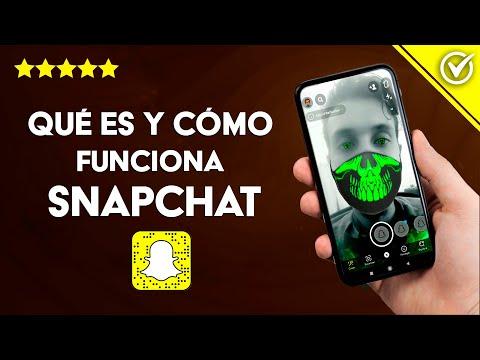 Qué es, Cómo Funciona y se usa Snapchat, Para qué Sirve y Características