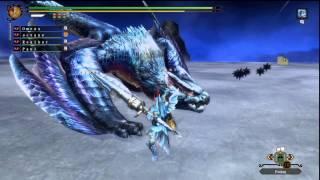 Monster Hunter 3 Ultimate - Lucent Nargacuga (G Rank Online Quests 24)