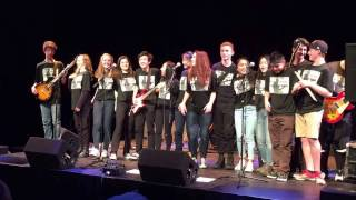 WVSS Intermediate Rock band - 2017