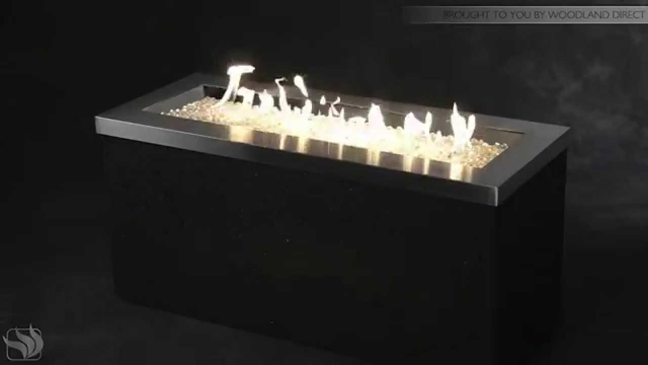 key largo linear gas fire pit youtube