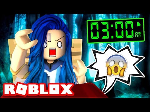 Being awake at 3AM... Reading Roblox Scary Stories!
