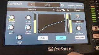 Standard Compressor | Presonus StudioLive 24 Series III