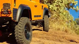Boom Racing 1.9 Mud Terrain Trophy tire and 1.9 Narrow 21mm Badass wheel testing