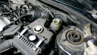 Замена тормозной жидкости в Lancer 9 методом замещения