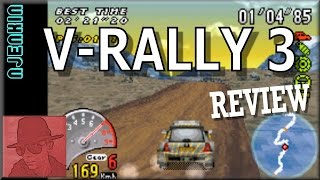 V-Rally 3 - on the Game Boy Advance (GBA) - with Commentary !!