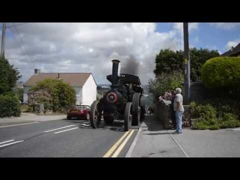 Stone Haulage by Steam