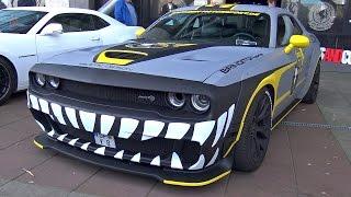 Dodge Challenger Hellcat + Chevrolet Corvette C7 Z06 BBM Motorsport!