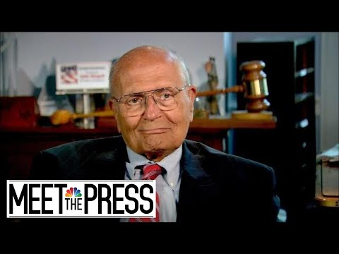 John Dingell reflects On Congressional Career: 'I've Done My Best' | Meet The Press | NBC News