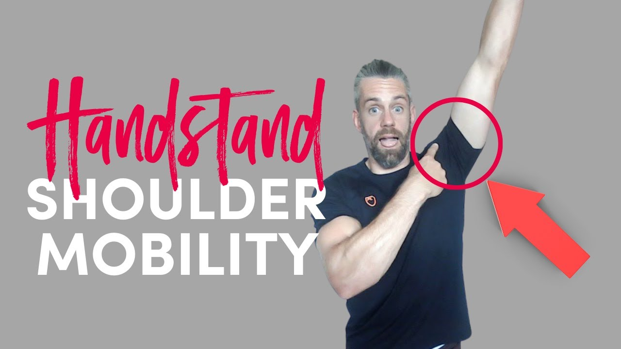 Shoulder MOBILITY for HANDSTANDS [Live follow along] // School of Calisthenics