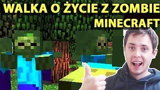 Minecraft Po Polsku Survival na Modach | WALKA O ŻYCIE Z ZOMBIE