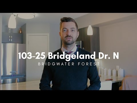 103-25 Bridgeland Dr. N // Bridgwater Forest Condo // Bobby L. Wall // Winnipeg Real Estate