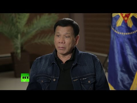 Exclusive interview with Philippines President Rodrigo Duter