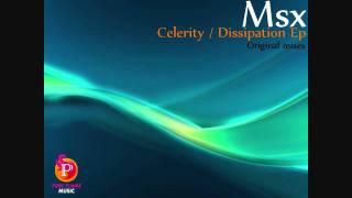Msx - Celerity / Dissipation Ep