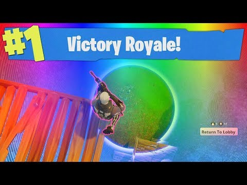 SMALL CIRCLE VICTORY! (FORTNITE BATTLE ROYALE)