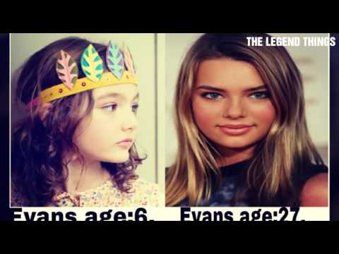 Indiana Evans I from 5 years to 27 years old....