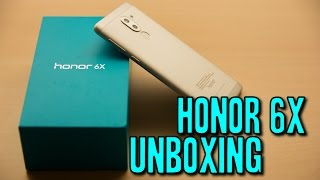 Honor 6X Unboxing and First Look