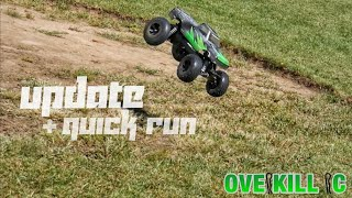 """Chev-E"" Traxxas Stampede 2wd Update & Quick Run 