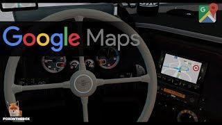 Google Maps Navigation (GPS) | Euro Truck Simulator 2 (ETS2 1.28 Mod)