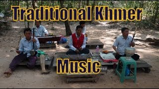 Traditional Khmer Music at the Temples of Angkor, Cambodia | Cambodian Traditional Folk Music