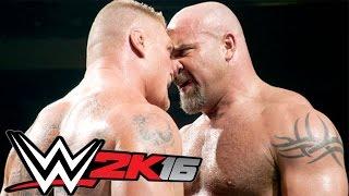 WWE2k16 - Brock Lesnar vs Goldberg. Заказ от победителя турнира.