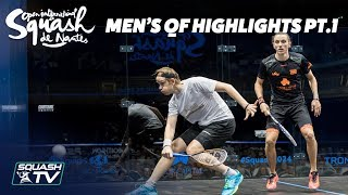 Squash: Men's Quarter Final Roundup Pt.1 - Squash de Nantes