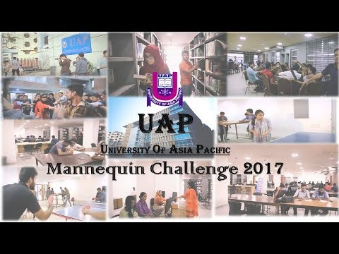 Mannequin Challenge|2017 at University of Asia Pacific (UAP)| Official Video