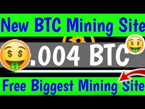 New Bitcoin Mining site |😂😂| Free bitcoin Miner | New BTC Mining site 2020 | Bitcoin Free Website