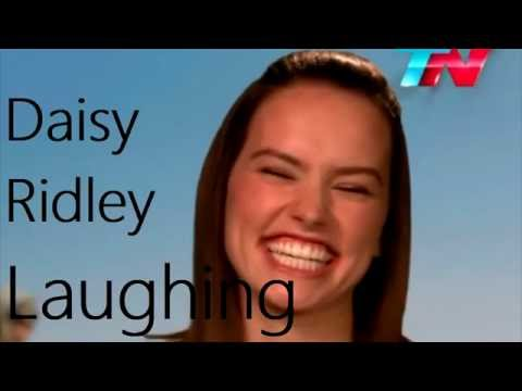 Daisy Ridley Laughing