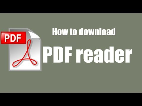 How To Download Pdf Reader For Free