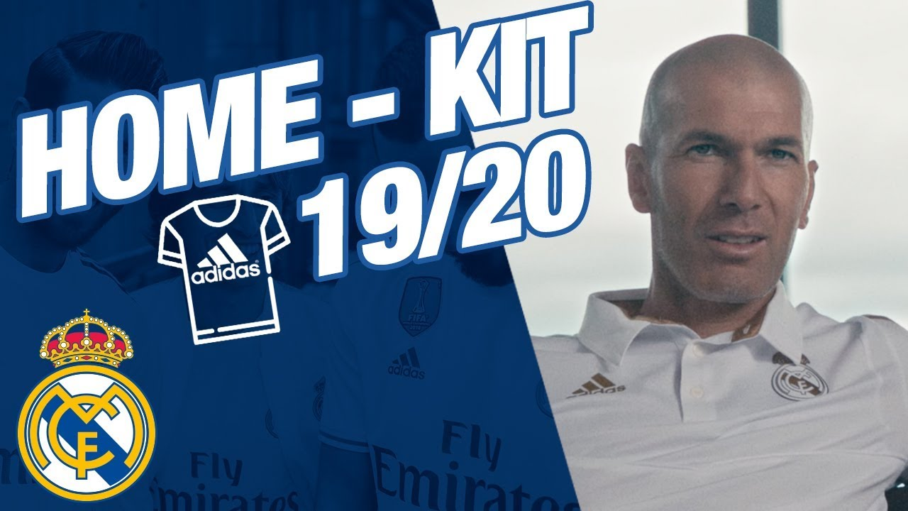 Zidane Marcelo Benzema And Bale Present New Real Madrid Home Kit