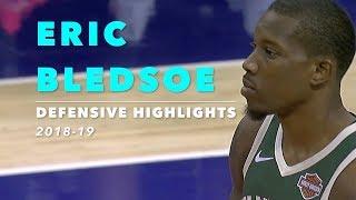 Eric Bledsoe Defensive Highlights | 2018-19