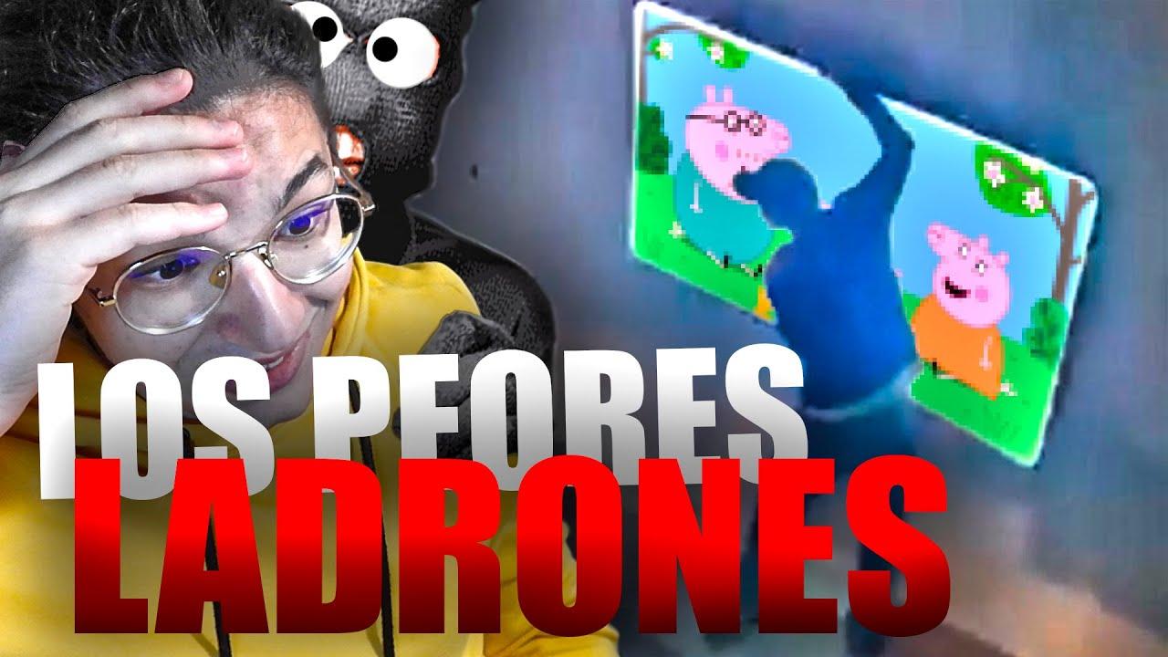 Los LADRONES MAS TORPES 😂 / Fails de ladrones en REACCIÓN en español / Los mas inútiles robando.
