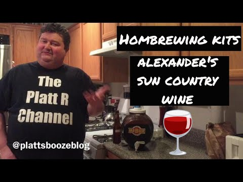 Homebrewing Kits: Alexander's Sun Country Wine