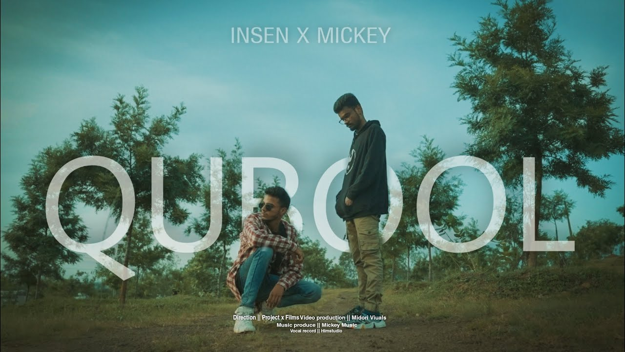 Download Qubool - mickey x insen (Official music video ) 2021