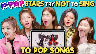 Download lagu K-pop Stars React To Try Not To Sing Along Challenge (ITZY 있지)