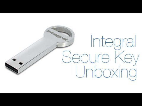 Integral USB SecureKey | Unboxing & First Impressions