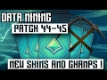 Paladins:Patch 44-45 Datamining/3 New Champions/5 New Skins and Icons Recoloring