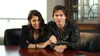 Ian Somerhalder and Nikki Reed Give Students the #BestDayEver | WHOSAY