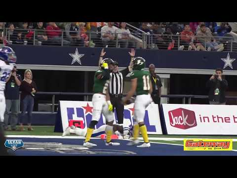 HIGHLIGHTS: Westbrook vs Longview - 2018 6A Division II Football State Finals - 12/22/2018