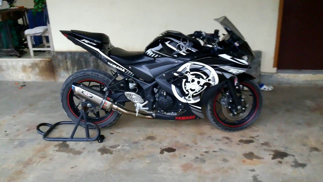 Yamaha yzf r25 modification cutting sticker