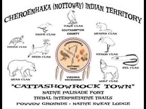 IROQUOIAN CHEROENHAKA (NOTTOWAY) INDIANS OF SOUTHAMPTON COUNTY, VIRGINIA