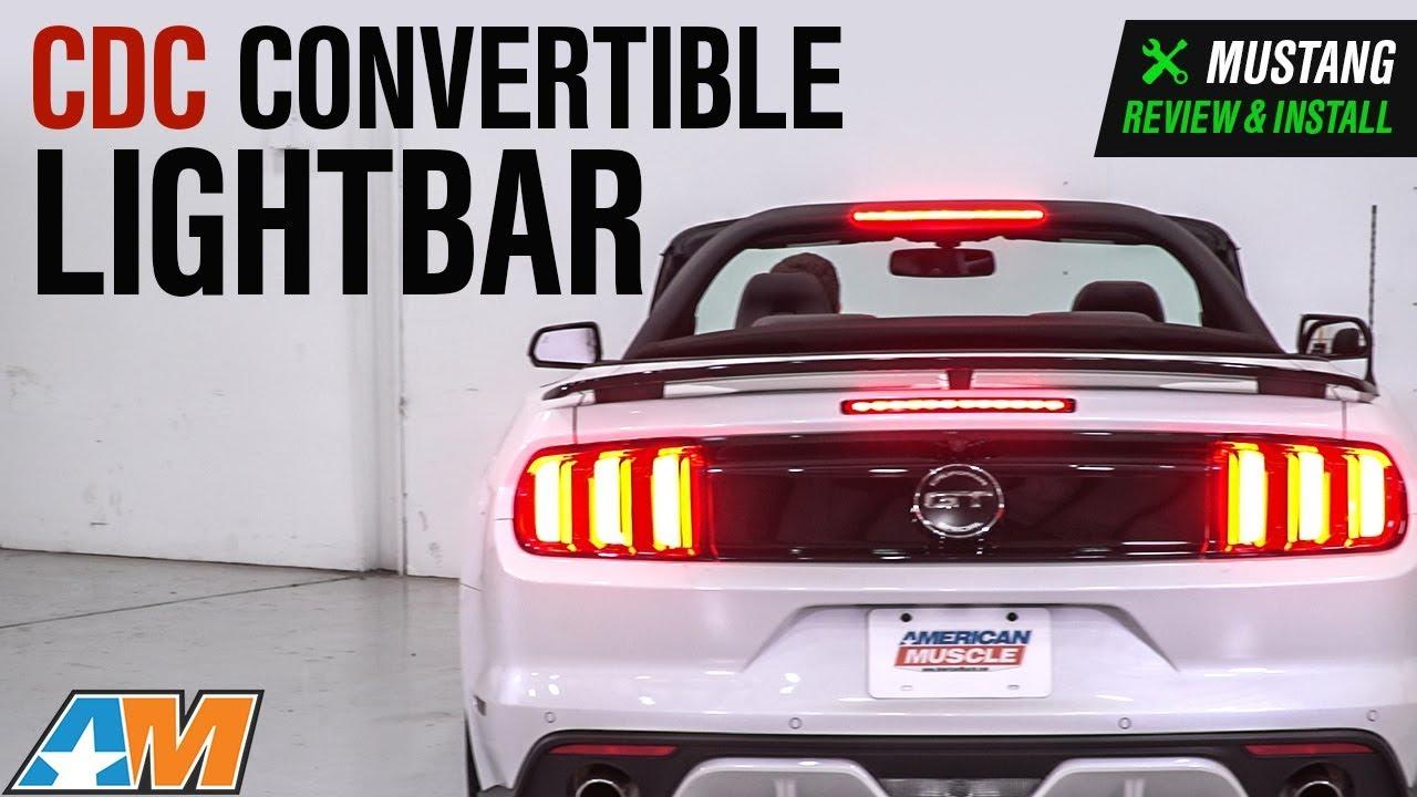 2015 2018 mustang cdc convertible lightbar review install youtube 2015 2018 mustang cdc convertible lightbar review install aloadofball Choice Image