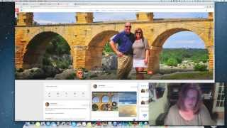 Create a Google Hangout and embed on your Wordpress blog