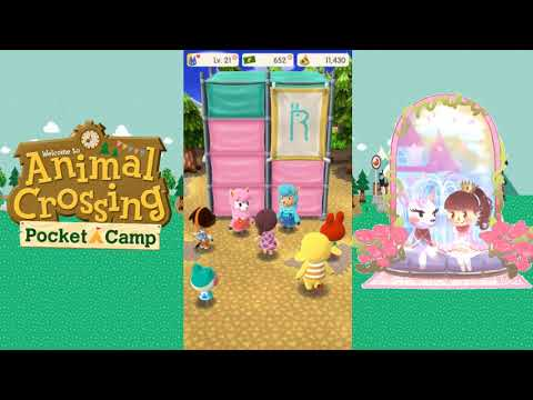 Animal Crossing:  Pocket Camp - Fun with Amenities