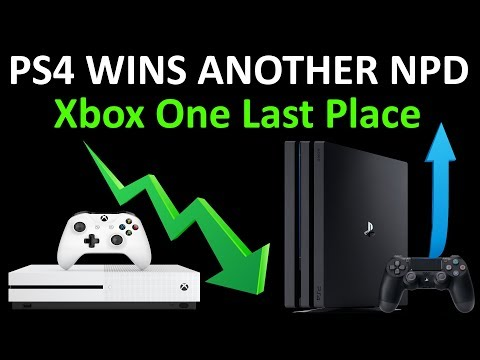 PS4 Fools American Gamers Again! Gold PS4 Helps Win The NPD! Xbox One Dead Last!