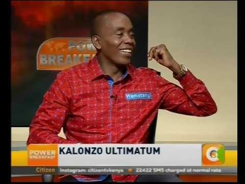 Power Breakfast News Review : Kalonzo ultimatum