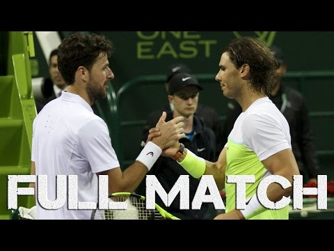 Doha Open 2016 : Rafael Nadal vs Robin Haase (1/8 Finale), FULL MATCH HD