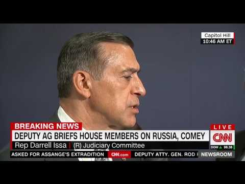 Darrell Issa: James Comey fell 'in love with the camera'