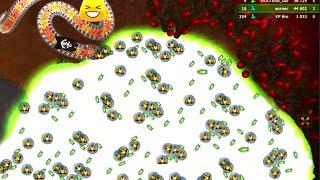 Little Big Snake 🐍 #99 Rebel Kills 👑 ~30 Encircled Rebel Hunt LittleBigSnake | Littlebigsnake.io